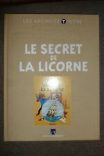 BD les archives tintin hergé le secret de la licorne TBE 2010