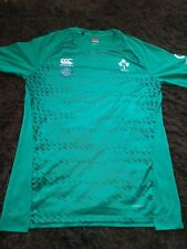 Ireland Rugby Union Football Shirt Canterbury Large Mens New top slim fit