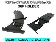 04-10 BMW 5 Series E60 E61 OE Style Retractable Driver+Passenger Side Cup Holder