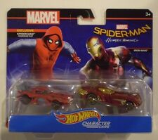 HOT WHEELS 2017 Marvel*SPIDER-MAN:HOMEMADE SUIT & IRON MAN*Spider-Man Homecoming