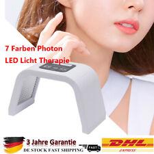 LED Photon Therapie 7 Farben Lichtbehandlung Maske Schönheit Lichttherapie PDT