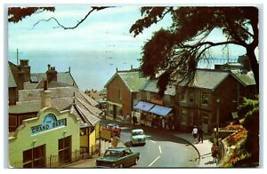 Postcard Bent Hill Felixstowe Suffolk posted 1971