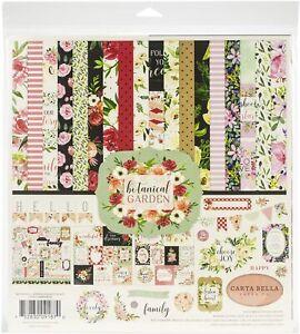"Carta Bella Collection Kit 12""X12""-Botanical Garden"