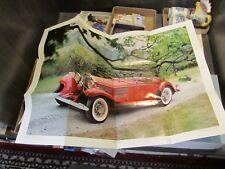 Vintage Mercedes Benz 540K 1970 Automobile Quarterly Magazine Full Color Poster