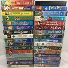 Lot de 32 Vhs Disney