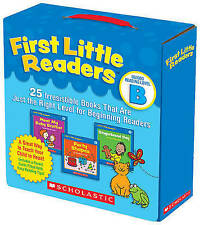 First Little Readers Parent Pack: Guided Reading Level B: 25 Irresistible Books