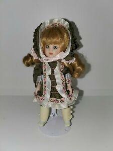 "Marie Osmond Petite Amour ""Adrienne"" 6"" Porcelain Doll,COA & BOX!"