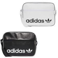 adidas Messenger Bag Airliner Vintage Schultertasche Umhängetasche Damen schwarz