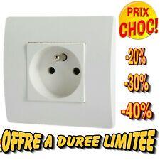 Prise de courant électrique murale encastrable qualité prix garantie normes NF