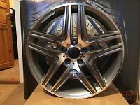 4x 20 Zoll Alufelgen für Mercedes-Benz G-Klasse W460 W461 W463 ET48  9.5J