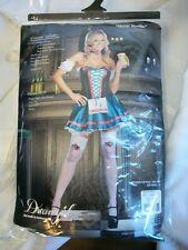 Dream Girl Heidi Hottie Women Costume Bar Maid Beer Oktoberfest Halloween