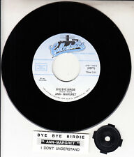 "ANN-MARGRET Bye Bye Birdie & I Don't Understand 7"" 45 record NEW + jukebox strip"