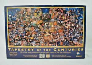 SunsOut - Tapestry of the Centuries by Gorsky - 2000 Piece Jigsaw Puzzle - Open