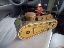 Vintage Wind Up Marx's  tanks
