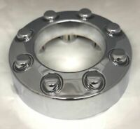 NEW 2005-2018 FORD F250 F350 CHROME Open Center Wheel Hub Cap 4x4