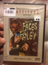 WWF - Three Faces of Foley (DVD, 2002)