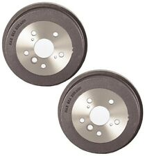 Pair Set of 2 Rear Brake Drums Brembo 5 Lugs For Toyota Camry Solara 2.2L