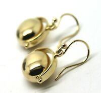 Kaedesigns, 9ct Yellow or White or Rose Gold 375 HEAVY OVAL SPINNER  EARRINGS