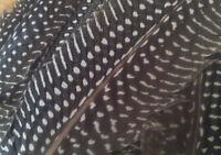 25 x Vogelfedern Feder 18-20cm lang Federkiel Bunte Federn Perlhuhn Basteln