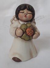RARE Bozner Thun Bolzano Figurine w/ flower - FORTUNA - Angel of Good Fortune