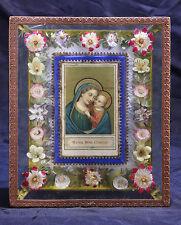 quadro devozionale  manufatto 1800 MADONNA DEL BUON CONSIGLIO