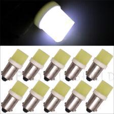 10pcs White High Power LED Light Bulbs BA9S COB DC12V  T11 H6W T4W