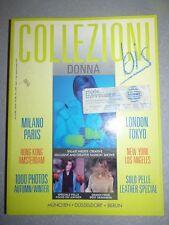 Magazine mode fashion COLLEZIONI DONNA BIS #23 pret à porter autumn winter 1991