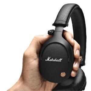 Marshall Monitor Bluetooth Wireless Headphones Headset Microphone