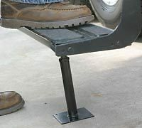 American Motorhome RV Fold Up Entry Step Support  43671