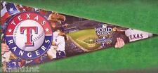 Jigsaw puzzle MLB Texas Rangers in the shape of a pennant 300 piece NIB