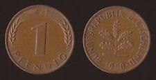 GERMANIA GERMANY 1 PFENNIG 1950 J