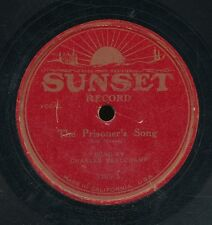 13pc78-male vocal-Sunset 1165-Charles Beauchamp-RARE Hwd label