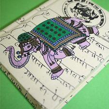 Notizbuch Kladde Heft Indien Papier 1 Elefant