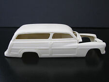 "Jimmy Flintstone 1949 Mercury Chopped ""Woody Wagon"" Resin Body  #282"