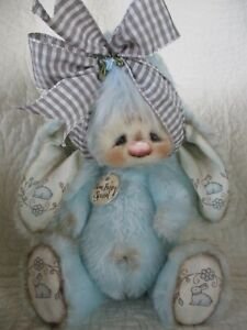 Primitive 'Some Bunny Special' Bunny Rabbit Doll Made By Patti's Ratties