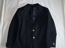 Boys CLASS CLUB Navy 15% Wool BLAZER JACKET 12 R Regular Dressy Suit Coat