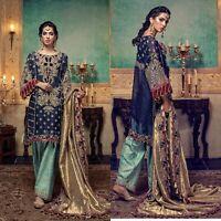 Maria B Pakistani Designer Dress Wedding Collection Indian Suit shalwar Chiffon