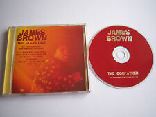 JAMES BROWN The Godfather live CD album UK 2000 Newsound NST062 (disc is EX)