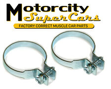 64-72 442 GTO GS Chevelle exhaust rear muffler tail pipe clamp to hanger 2 1/2