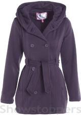 Vêtements violet à capuche pour fille de 2 à 16 ans Automne