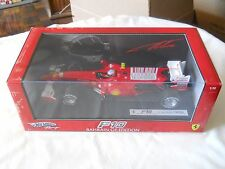 HotWheels Ferrari F10 Bahrain GP Edition F. Alonso 1:18 Diecast