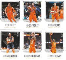 2018 RITTENHOUSE WNBA CONNECTICUT SUN 11 CARD TEAM SET * Chiney Ogwumike *+ MORE