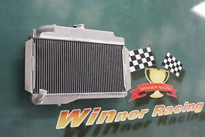 Fit MG MGB GT/ROADSTER TOP-FILL 1968-1975 aluminum radiator 56mm 2 Rows