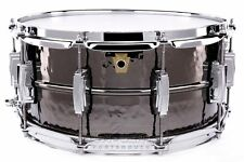 Ludwig Black Beauty Hammered Snare Drum 6.5x14 - Video Demo