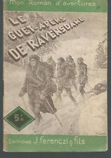 Le Guet-apens de Ravensdane.Albert BONNEAU.Ferenczi 1946 SF55