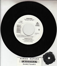 "MADONNA  Human Nature 7"" 45 rpm vinyl record NEW + juke box title strip"