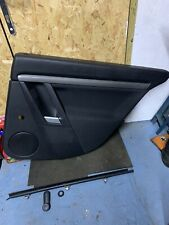 VAUXHALL VECTRA C SRI FACELIFT 2006 DRIVER SIDE REAR DOOR CARD O/S/R