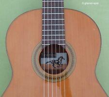 Edle 4/4 Konzert-Gitarre Hopf Bronco Adalid 2 Classic 650 Decke Zeder massiv Top