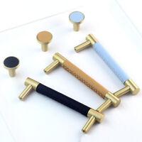 Brass Cabinet Knob Door Cupboard Handles Drawer Pull Home Wardrobe Hardware DIY