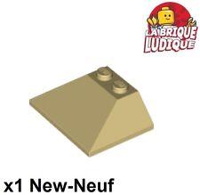 Lego 1x Slope Pente 45 3x4 4x3 Double 4861 Yellow//Jaune//Gelb